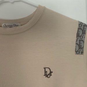 Brown/Tan Dior Top